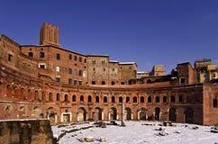 Trajan Market Stock Photo