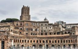 Trajan Market in Rome, Italy Royalty Free Stock Photo