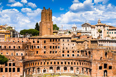 Trajan Market in Rome Stock Photos