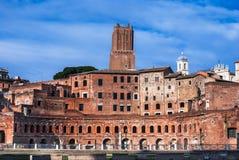 Trajan Markets, Rome, Italy stock photo