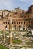 Trajan markets in rome Stock Photo