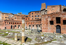 Trajan Markets, Rome Stock Images