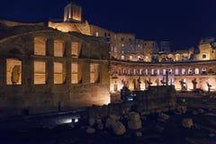 Trajan Markets in Trajan Forum Royalty Free Stock Images