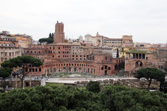 Trajan rome Stock Photography