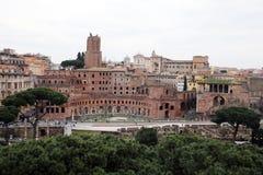 Trajan rome Stock Photography