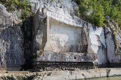 Trajan ` s板 免版税图库摄影