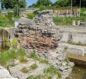 Trajan's Bridge Remainings Royalty Free Stock Image