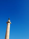 Trajan's Column. Rome, Italy, photo was taken in February Royalty Free Stock Photo