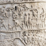 Trajan's Column Royalty Free Stock Photos