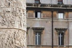 Trajan's Column Stock Image