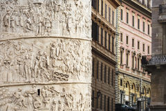 Trajan's Column Royalty Free Stock Photo