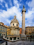 Trajan's Column, Rome Royalty Free Stock Images