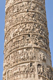 Trajan's Column, Rome Stock Images