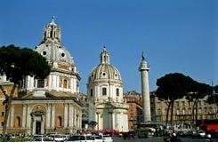 Trajan's column, Rome, Italy Royalty Free Stock Images