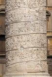 Trajan's Column in Rome, Italy Stock Photography