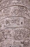 Trajan's Column Up-close stock photo