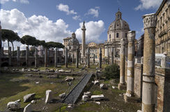 Trajan's Forum Royalty Free Stock Photo