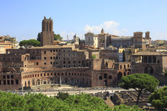 Trajan's Forum in Ancient Rome, Italy Royalty Free Stock Photography