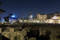 Trajan's Forum (Foro Di Traiano) Royalty Free Stock Photo