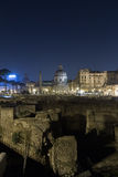 Trajan's Forum (Foro Di Traiano) and Trajan's Column Stock Image