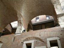 Trajan's forum and market in Rome Royalty Free Stock Image