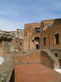 Trajan's forum and market in Rome Royalty Free Stock Images