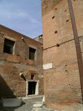 Trajan's forum and market in Rome Stock Photo