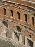 Trajan's forum and market in Rome Stock Image