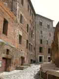 Trajan's forum and market in Rome Stock Photos