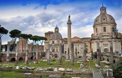 Trajan's Forum, Rome Stock Image