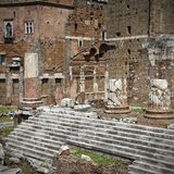 Trajan's Forum Stock Images