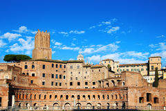 Trajan's Forum, Rome, Italy Royalty Free Stock Photos