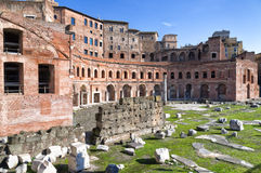 Trajan's Forum in Rome, Italy Stock Photography