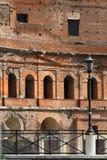 Trajan's Forum stores Stock Photo