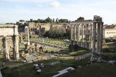 Trajan's forum Stock Image