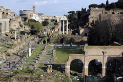 Trajan's forum Royalty Free Stock Images