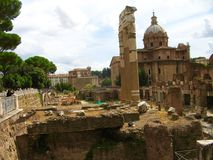 Trajan's Forum Royalty Free Stock Photos