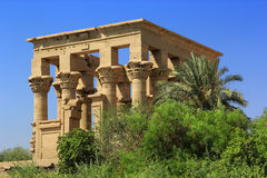 Trajan's Kiosk of Philae Royalty Free Stock Photography