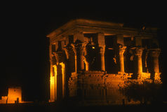 Trajan's Kiosk, Philae Temple Royalty Free Stock Photo