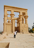 Trajan's Kiosk in Philae temple, Egypt Royalty Free Stock Photo