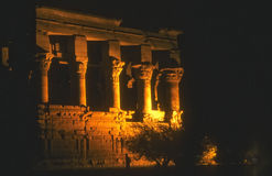 Trajan's Kiosk, Philae Temple Royalty Free Stock Photography