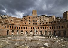 Trajan's Market Stock Photos