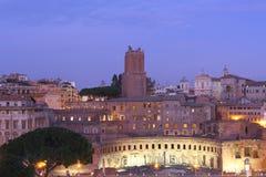 Trajan's market Stock Images