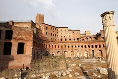 Trajan's Market Royalty Free Stock Images