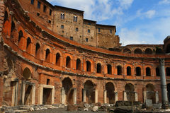 Trajan's market Royalty Free Stock Photo