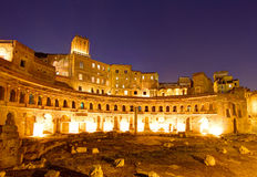 Trajan's Market, Forum Romanum, Rome Stock Photography