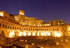 Trajan's Market, Forum Romanum, Rome Stock Photography