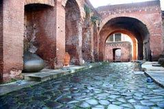Trajan's market Stock Photos