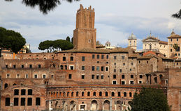 Trajan's Market (Mercati Traianei) in Rome, Italy Royalty Free Stock Photography