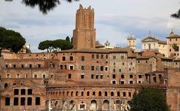Trajan's Market (Mercati Traianei) in Rome, Italy Royalty Free Stock Photography